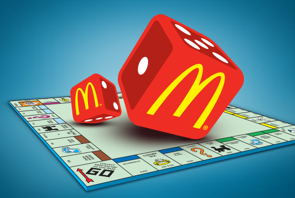 2009 Monopoly at McDonald's