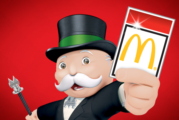 2010 Monopoly at McDonald's
